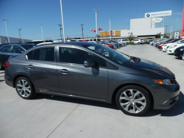 2012 honda civic si si 4dr sedan for sale in el paso texas classified. Black Bedroom Furniture Sets. Home Design Ideas