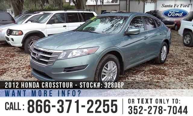 2012 Honda Crosstour EX-L - Leather Interior - Aux Port