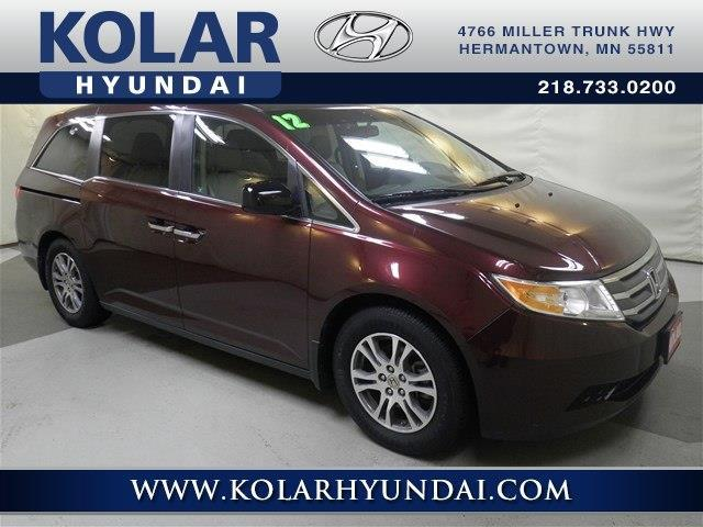2012 honda odyssey ex l ex l 4dr mini van for sale in duluth minnesota classified. Black Bedroom Furniture Sets. Home Design Ideas