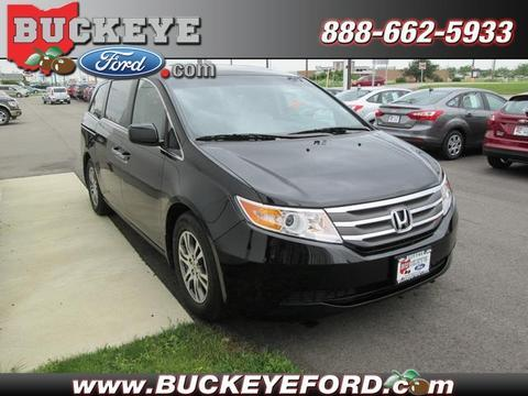 2012 honda odyssey ex l sidney oh for sale in sidney ohio classified. Black Bedroom Furniture Sets. Home Design Ideas