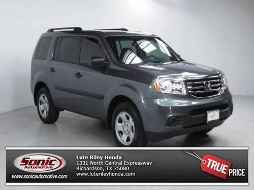 2012 honda pilot suv lx for sale in buckingham texas ForLute Riley Honda 1331 N Central Expy Richardson Tx 75080