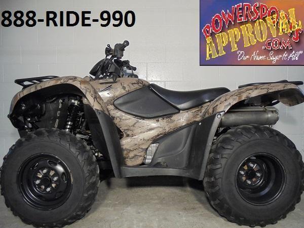 2012 Honda Rancher 420 For Sale U2482