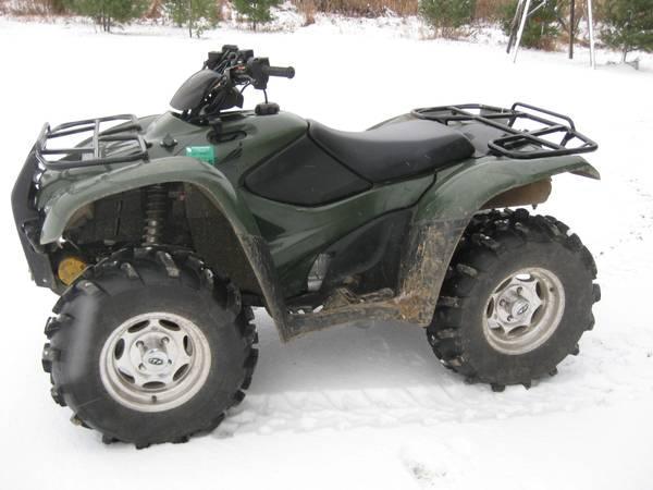 2012 Honda Rancher AT 420 4x4 With EPS   $5500
