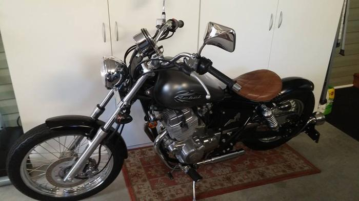 2012 Honda Rebel