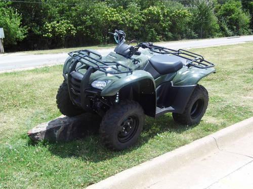2012 honda trx420fmc 4x4 manual shift new gr8 price for for Honda bentonville ar