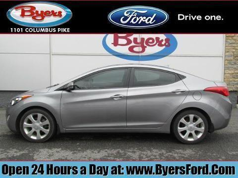 2012 hyundai elantra 4 door sedan for sale in delaware. Black Bedroom Furniture Sets. Home Design Ideas
