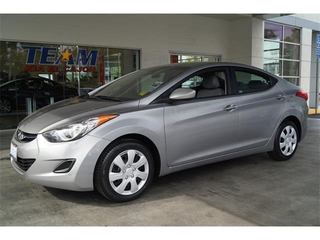 2012 hyundai elantra 4d sedan gls for sale in el cajon. Black Bedroom Furniture Sets. Home Design Ideas