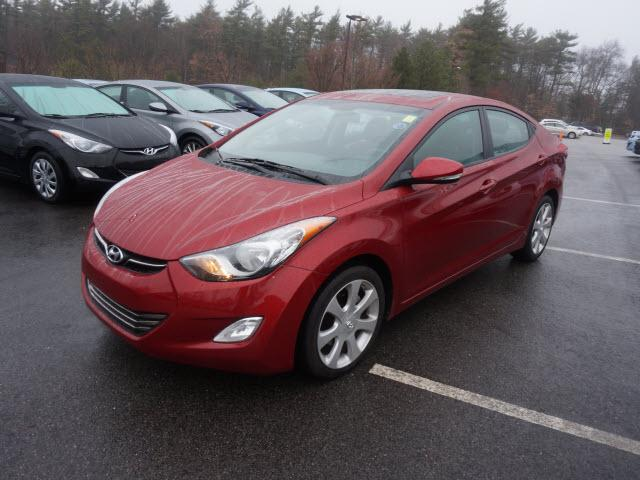 2012 hyundai elantra gls 4dr sedan 6m for sale in raynham. Black Bedroom Furniture Sets. Home Design Ideas