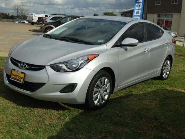 2012 hyundai elantra gls 4dr sedan 6m for sale in brenham. Black Bedroom Furniture Sets. Home Design Ideas