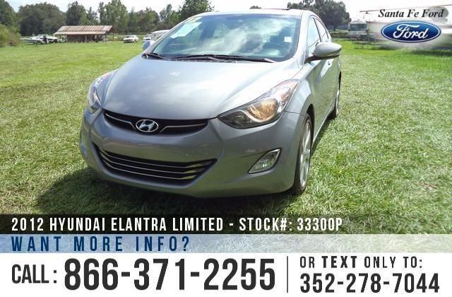 2012 Hyundai Elantra Limited - 30K Miles - Financing