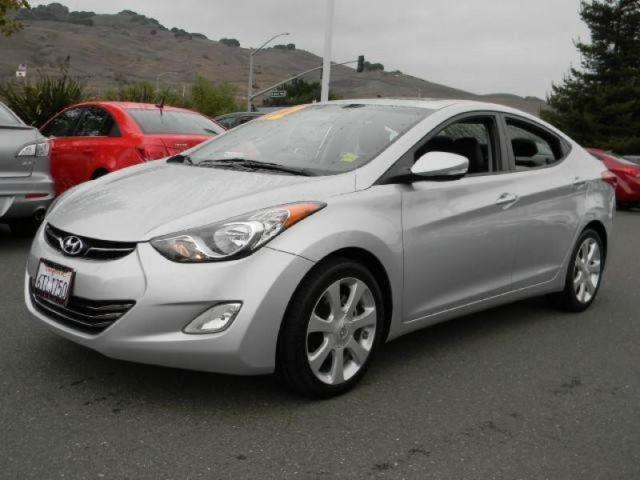 2012 hyundai elantra limited for sale in vallejo. Black Bedroom Furniture Sets. Home Design Ideas