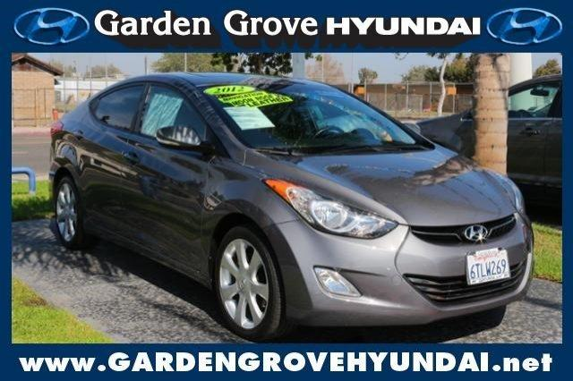 2012 hyundai elantra limited garden grove ca for sale in. Black Bedroom Furniture Sets. Home Design Ideas