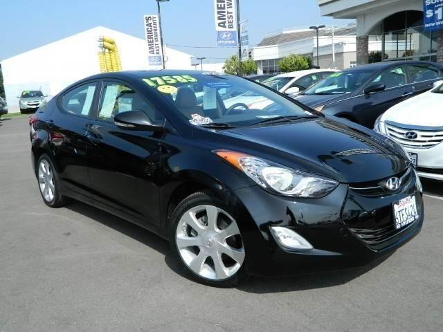 2012 hyundai elantra limited sedan 4d limited sedan 4d for. Black Bedroom Furniture Sets. Home Design Ideas