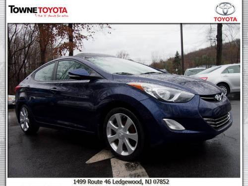 2012 hyundai elantra sedan limited for sale in ledgewood. Black Bedroom Furniture Sets. Home Design Ideas