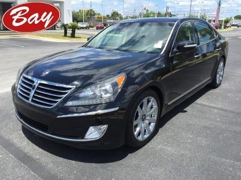 2012 HYUNDAI EQUUS 4 DOOR SEDAN