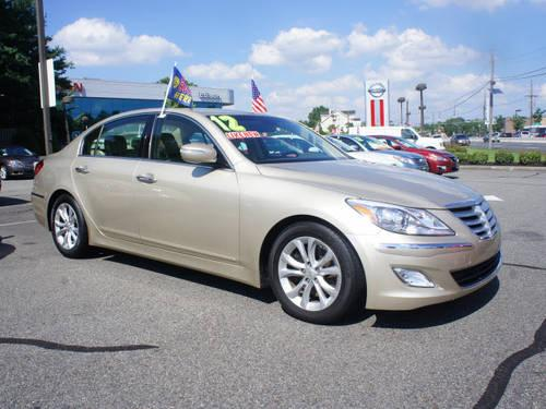 2012 hyundai genesis 4 dr sedan 3 8l v6 for sale in edison new jersey classified. Black Bedroom Furniture Sets. Home Design Ideas