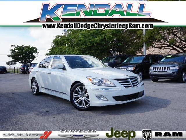 2012 hyundai genesis 4 dr sedan 4 6l v8 for sale in miami florida classified. Black Bedroom Furniture Sets. Home Design Ideas