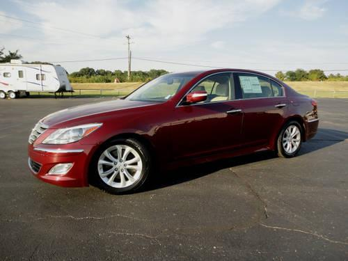 2012 hyundai genesis 4 dr sedan for sale in mineral wells mississippi classified. Black Bedroom Furniture Sets. Home Design Ideas