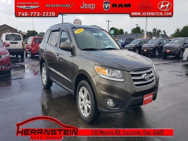 2012 hyundai santa fe limited awd limited 4dr suv for sale in chillicothe ohio classified. Black Bedroom Furniture Sets. Home Design Ideas