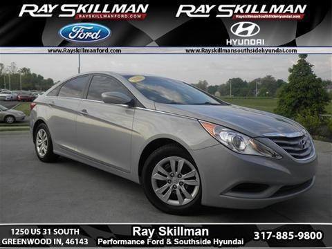 Ray Skillman Hyundai In Greenwood Indiana U003eu003e 2012 HYUNDAI SONATA 4 DOOR  SEDAN For Sale