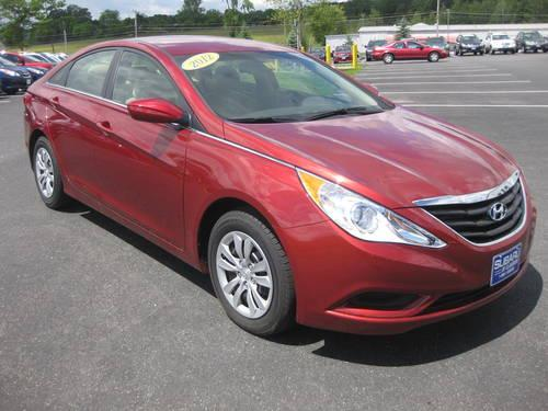 2012 hyundai sonata sedan gls for sale in claremont new hampshire. Black Bedroom Furniture Sets. Home Design Ideas