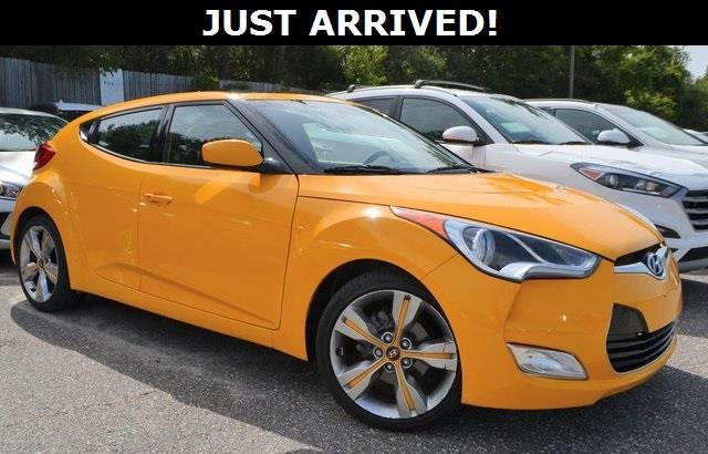 2012 Hyundai Veloster Base 3dr Coupe W Black Seats For