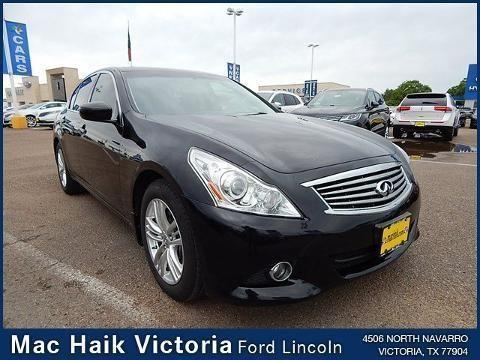 2012 infiniti g25 4 door sedan for sale in victoria texas. Black Bedroom Furniture Sets. Home Design Ideas