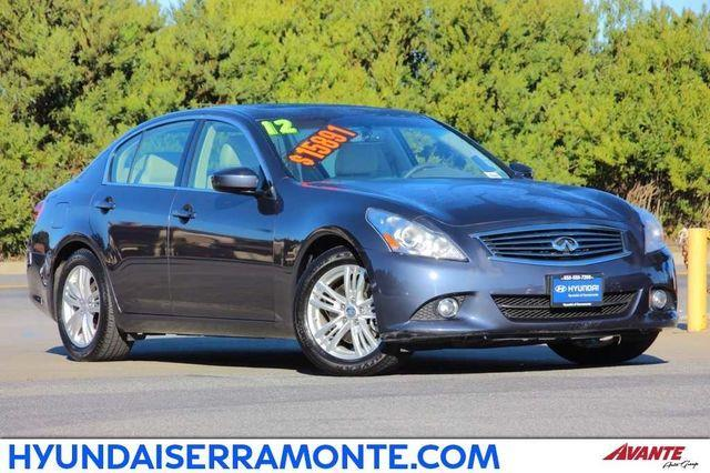 2012 infiniti g25 sedan base 4dr sedan for sale in. Black Bedroom Furniture Sets. Home Design Ideas