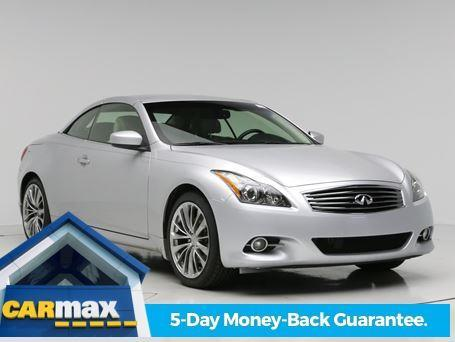 2012 INFINITI G37 Convertible Base 2dr Convertible