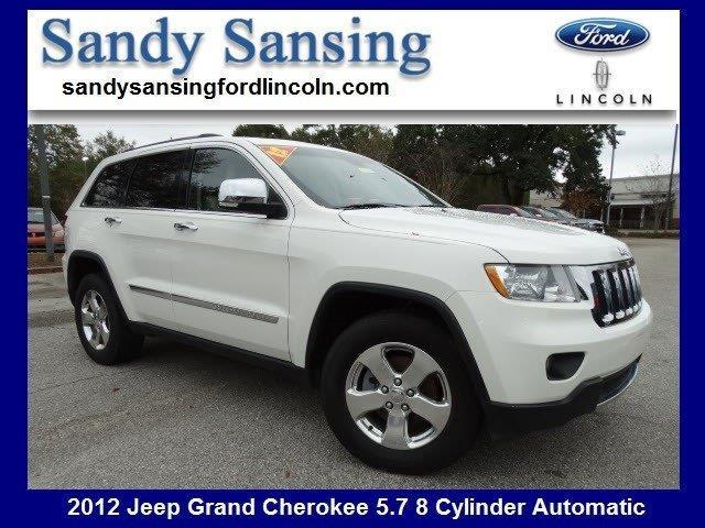 2012 Jeep Grand Cherokee Limited 4x2 Limited 4dr SUV