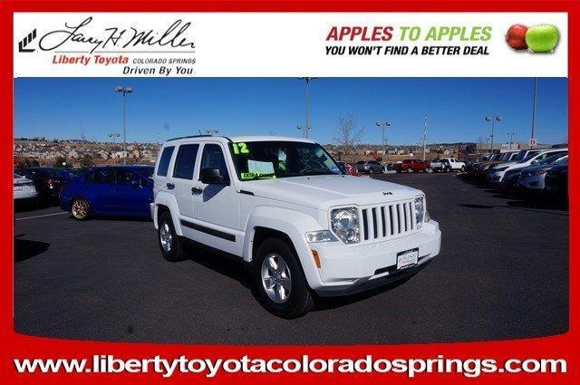 2012 Jeep Liberty Sport 4x2 Sport 4dr SUV