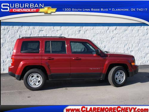 2012 jeep patriot suv sport for sale in claremore. Black Bedroom Furniture Sets. Home Design Ideas