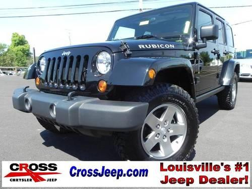 2012 jeep wrangler 4d sport utility unlimited rubicon for sale in louisville kentucky. Black Bedroom Furniture Sets. Home Design Ideas