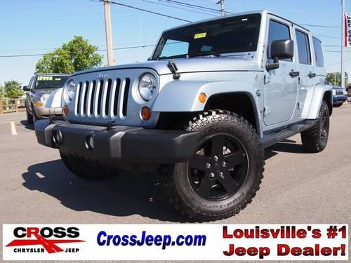 2012 jeep wrangler 4d sport utility unlimited sahara for sale in louisville kentucky classified. Black Bedroom Furniture Sets. Home Design Ideas