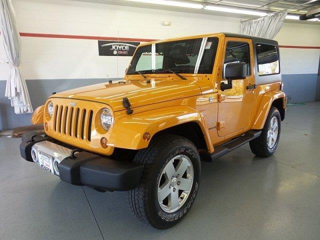 2012 Jeep Wrangler Sahara 4x4 Sahara 2dr SUV