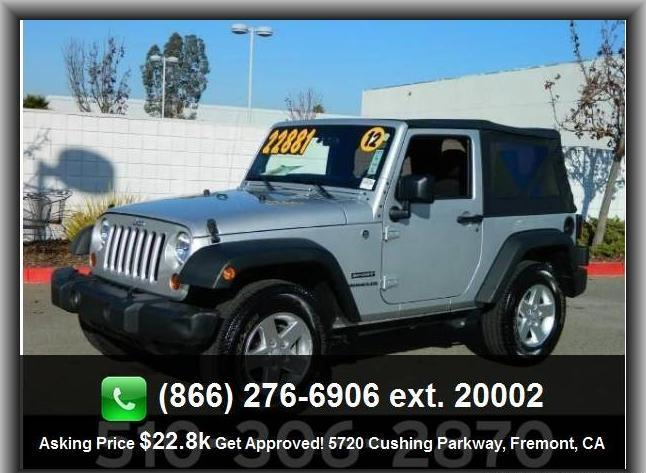2012 jeep wrangler sport suv for sale in san jose california. Cars Review. Best American Auto & Cars Review