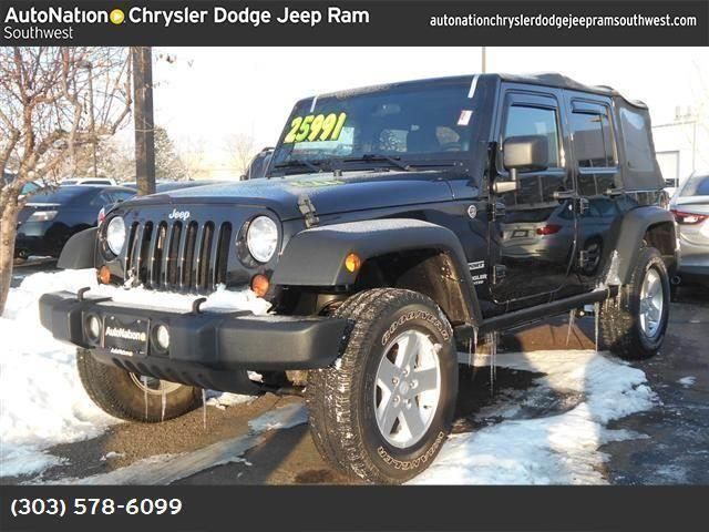 2012 jeep wrangler unlimited for sale in denver colorado classified. Cars Review. Best American Auto & Cars Review
