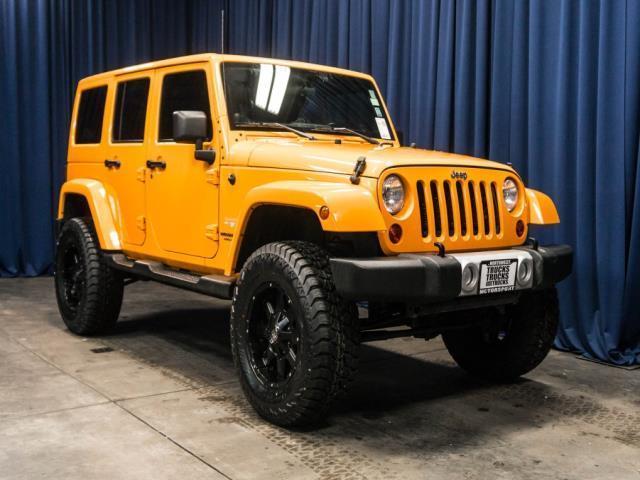 2012 jeep wrangler unlimited sahara 4x4 sahara 4dr suv for sale in edgewood washington. Black Bedroom Furniture Sets. Home Design Ideas