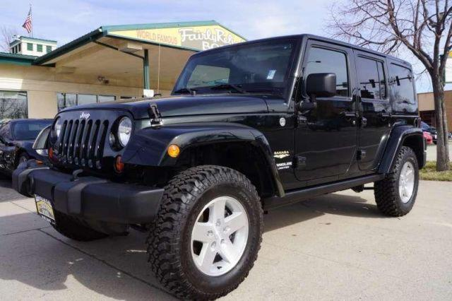 2012 Jeep Wrangler Unlimited Sahara For Sale In Boise