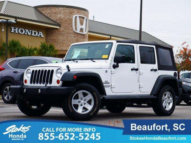 2012 jeep wrangler unlimited sport 4x4 sport 4dr suv for for Stokes honda used cars