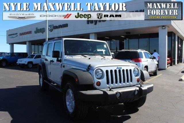 2012 Jeep Wrangler Unlimited Sport 4x4 Sport 4dr SUV