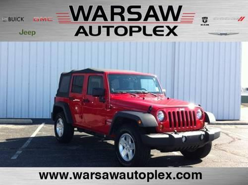 2012 Jeep Wrangler Unlimited Sport Utility 4WD 4dr Sport ...
