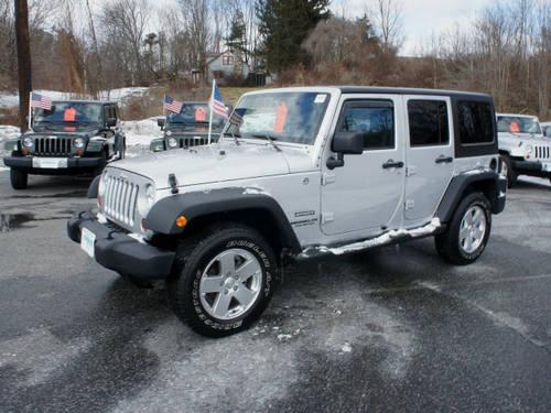 2012 jeep wrangler unlimited suv 4x4 sport for sale in beemerville. Cars Review. Best American Auto & Cars Review