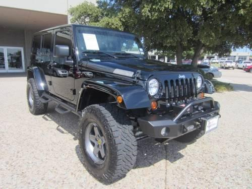 2012 jeep wrangler unlimited suv rubicon for sale in dallas texas. Cars Review. Best American Auto & Cars Review