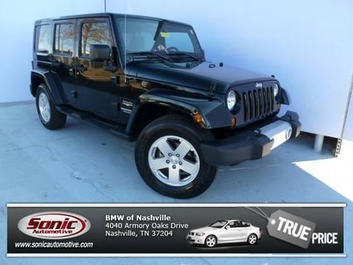 2012 jeep wrangler unlimited suv sahara for sale in nashville. Cars Review. Best American Auto & Cars Review