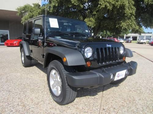 2012 jeep wrangler unlimited suv sport for sale in dallas texas classified. Black Bedroom Furniture Sets. Home Design Ideas