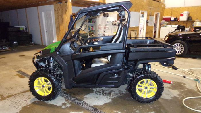 2012 john deere gator for sale in erie pennsylvania classified. Black Bedroom Furniture Sets. Home Design Ideas