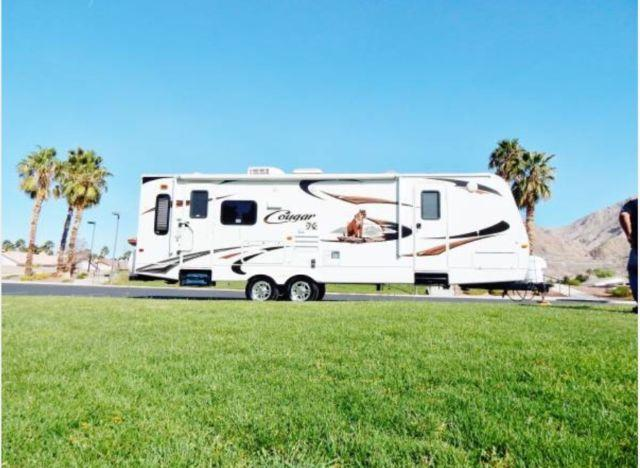 2012 Keystone Cougar 27rls With 16 U0026 39  Super Slide Out Must