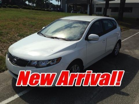 2012 KIA FORTE 4 DOOR HATCHBACK