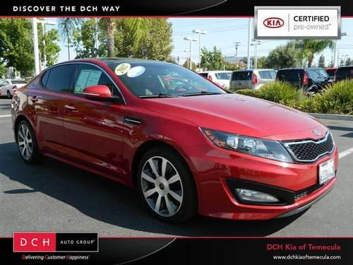 2012 kia optima 4d sedan sx for sale in rancho california. Black Bedroom Furniture Sets. Home Design Ideas
